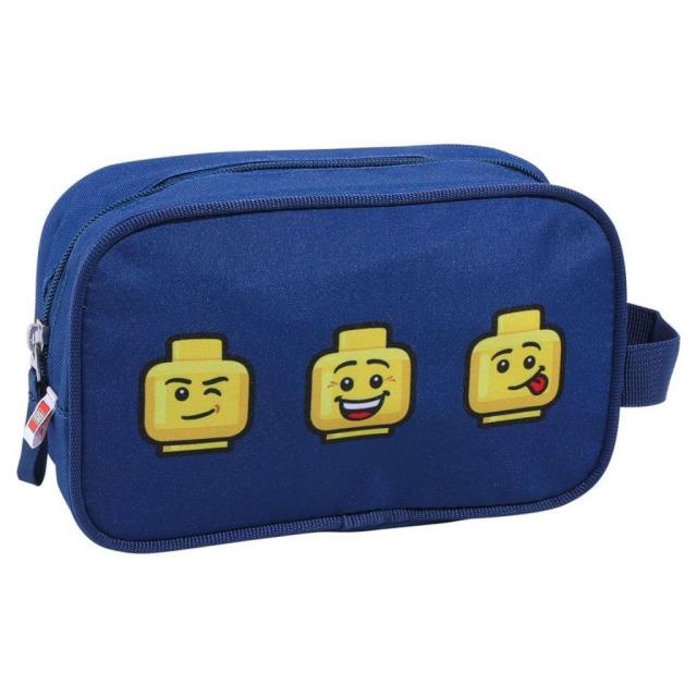 Obrázek produktu LEGO Faces Blue - toaletní taška