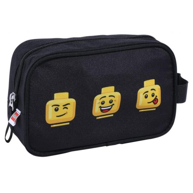 Obrázek produktu LEGO Faces Black - toaletní taška