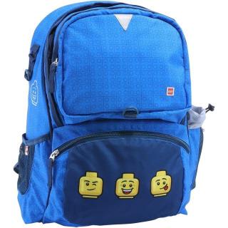 Obrázek 1 produktu LEGO Faces Blue Freshmen - školní batoh