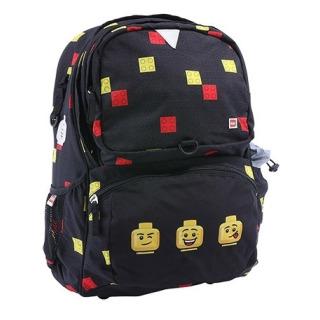 Obrázek 1 produktu LEGO Faces Black Freshmen - školní batoh