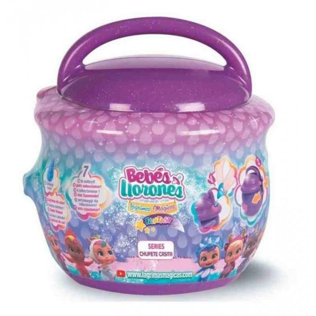 Obrázek produktu Panenka Cry Babies magické slzy Fantasy Paci House fialový