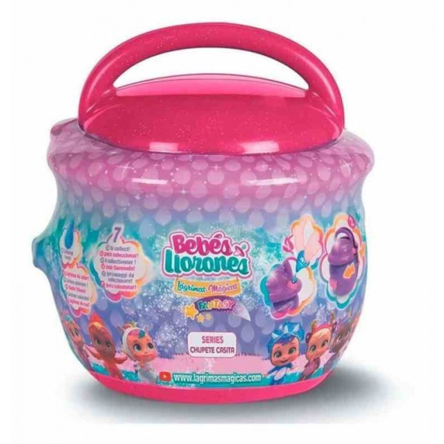 Obrázek produktu Panenka Cry Babies magické slzy Fantasy Paci House tmavě růžový
