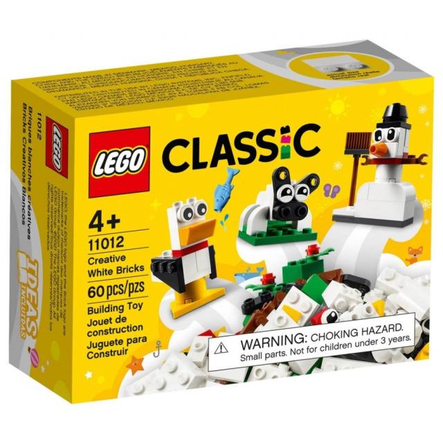 Obrázek produktu LEGO Classic 11012 Bílé kreativní kostky