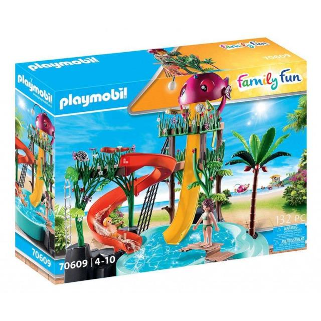 Obrázek produktu Playmobil 70609 Aquapark se skluzavkami