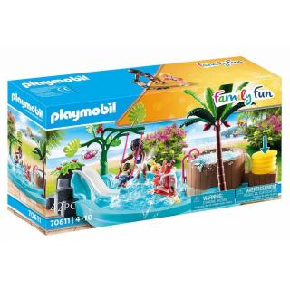 Obrázek 1 produktu Playmobil 70611 Dětský bazén s vířivkou