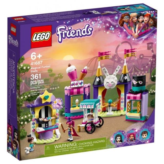 Obrázek produktu LEGO Friends 41687 Kouzelné pouťové stánky