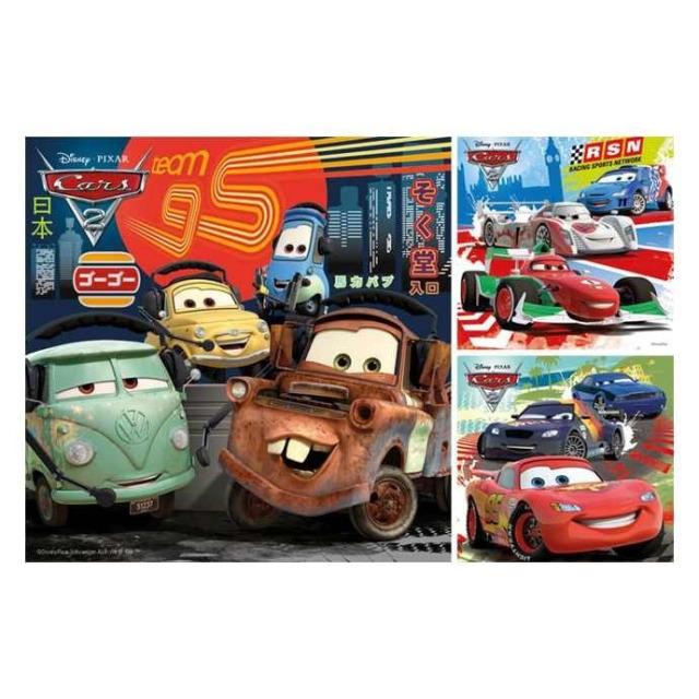 Obrázek produktu Ravensburger 09281 Puzzle Cars 2 3x49 dílků