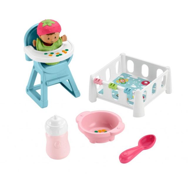Obrázek produktu Fisher Price Little People Čas na hraní a krmení, Mattel GKP65