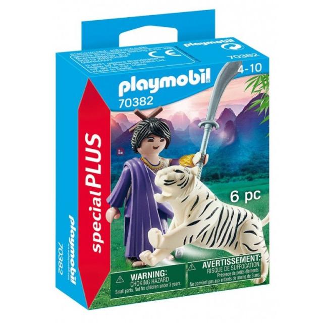 Obrázek produktu Playmobil 70382 Asijská bojovnice s tygrem