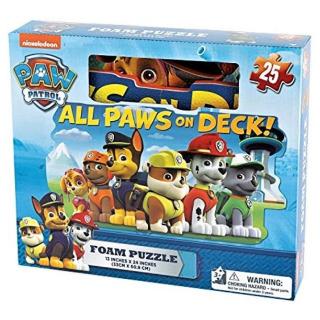 Obrázek 1 produktu Pěnové puzzle Tlapková patrola 25 ks