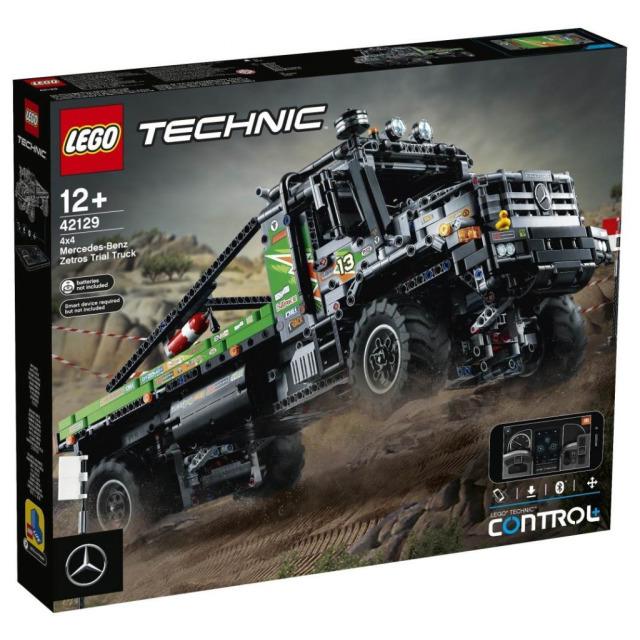 Obrázek produktu LEGO TECHNIC 42129 Truck trialový vůz Mercedes-Benz Zetros 4x4