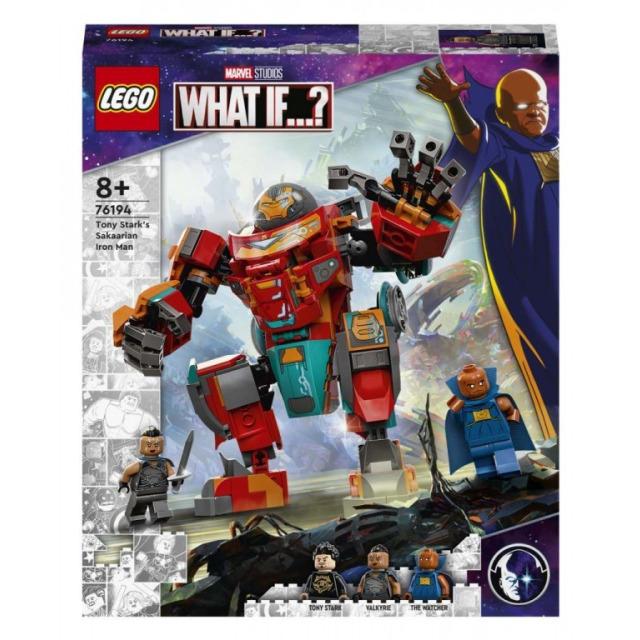Obrázek produktu LEGO Super Heroes 76194 Sakaarianský Iron Man Tonyho Starka