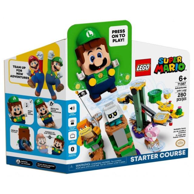 Obrázek produktu LEGO SUPER MARIO 71387 Dobrodružství s Luigim – startovací set