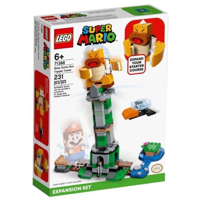 Obrázek produktu LEGO SUPER MARIO 71388 Boss Sumo Bro a padající věž – rozšiřující set