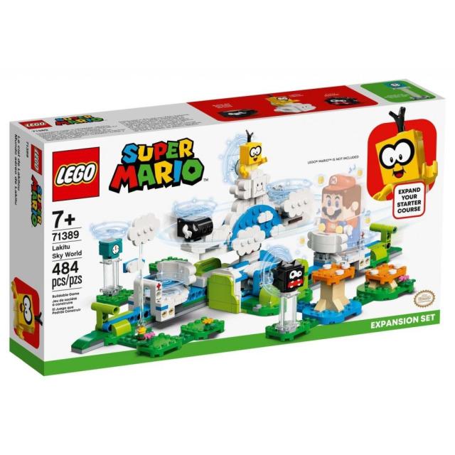 Obrázek produktu LEGO SUPER MARIO 71389 Lakitu a svět obláčků – rozšiřující set