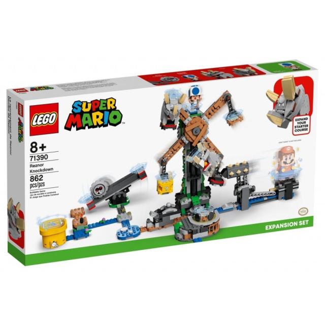 Obrázek produktu LEGO SUPER MARIO 71390 Boj s Reznorem – rozšiřující set