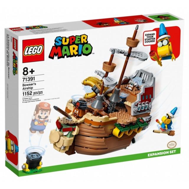 Obrázek produktu LEGO SUPER MARIO 71391 Bowserova vzducholoď – rozšiřující set