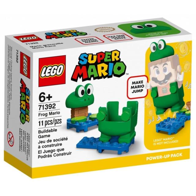 Obrázek produktu LEGO SUPER MARIO 71392 Žába Mario – obleček