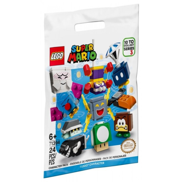 Obrázek produktu LEGO SUPER MARIO 71394 Akční kostky – 3. série