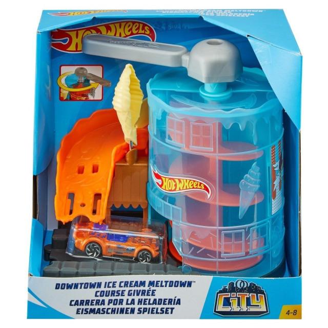 Obrázek produktu Hot Wheels City Postav město Zmrzlinové parkoviště, Mattel GPD08