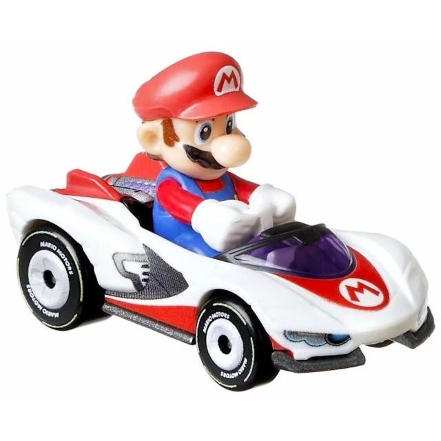 Obrázek produktu Hot Wheels Mariokart MARIO, Mattel GJH62