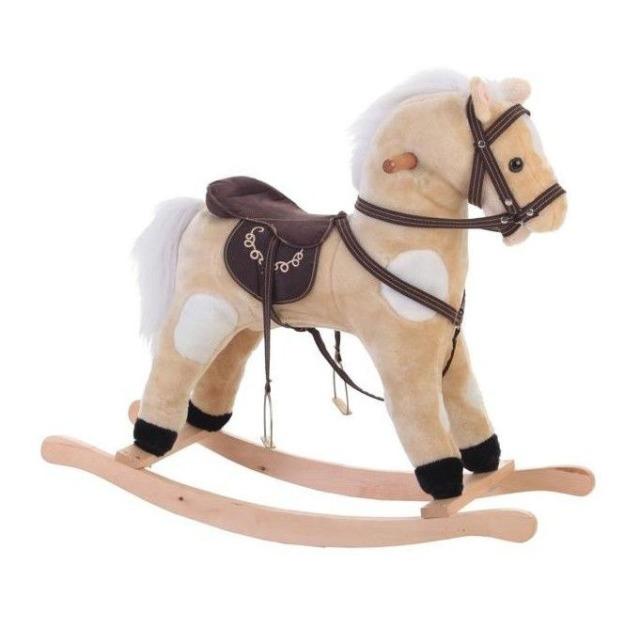 Obrázek produktu Llopis Houpací kůň béžový