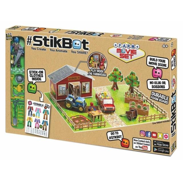 Obrázek produktu EP line Stikbot filmařská sada farma