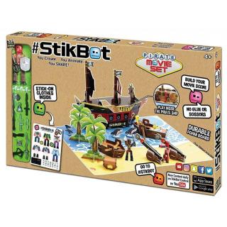 Obrázek 1 produktu EP line Stikbot filmařská sada pirátská loď
