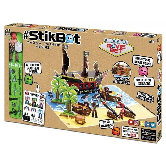 Obrázek produktu EP line Stikbot filmařská sada pirátská loď