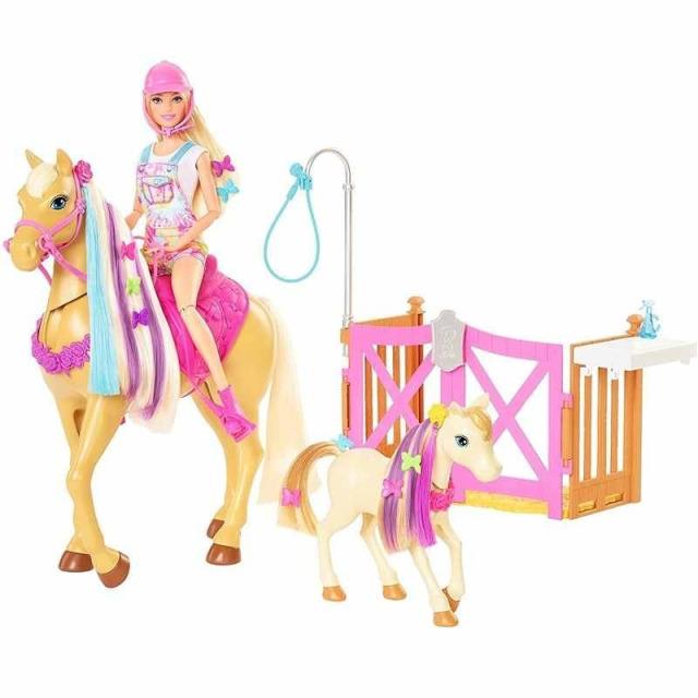 Obrázek produktu Barbie Rozkošný koník s doplňky, Mattel GXV77