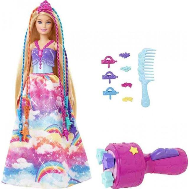 Obrázek produktu Barbie Princezna s barevnými vlasy, Mattel GTG00