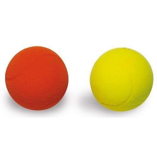 Obrázek produktu Míčky na soft tenis 2ks žlutý a červený, průměr 7cm