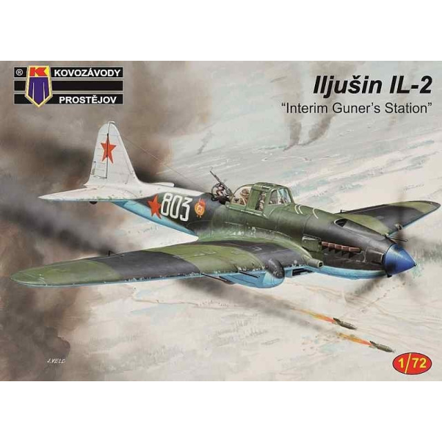 Obrázek produktu Kovozávody Prostějov Iljušin IL-2, 1:72