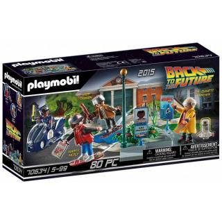 Obrázek 1 produktu Playmobil 70634 Back to the Future Honička s hoverboardem
