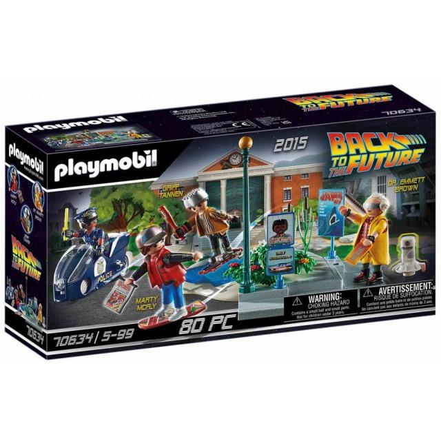 Obrázek produktu Playmobil 70634 Back to the Future Honička s hoverboardem