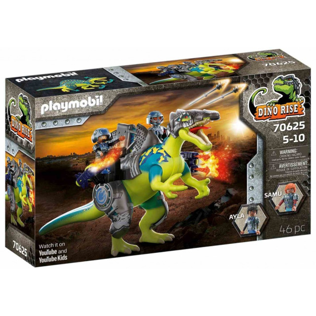 Obrázek produktu Playmobil 70625 Spinosaurus: Dvojitá obranná síla