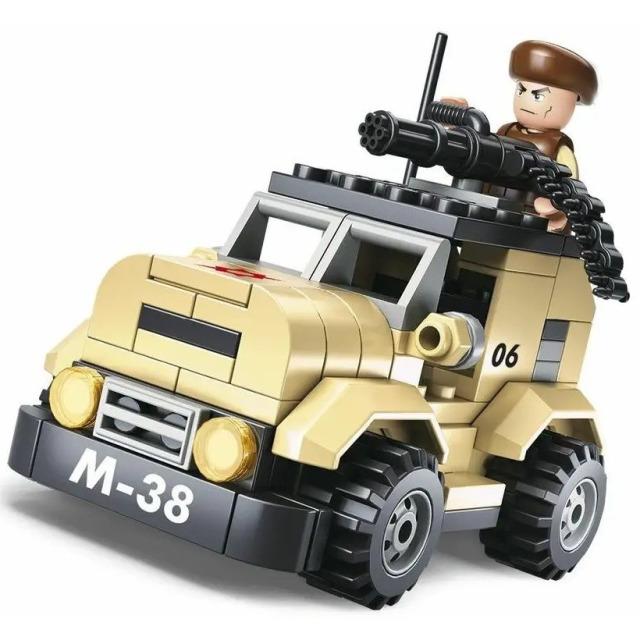 Obrázek produktu Sluban Army M38-B0587A Hlídkový vůz