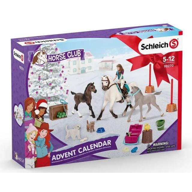 Obrázek produktu Schleich 98270 Adventní kalendář Koně 2021