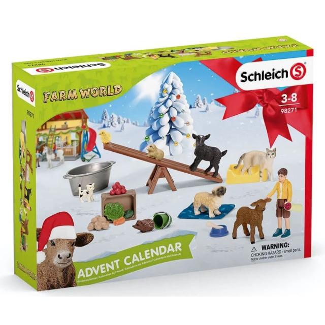 Obrázek produktu Schleich 98271 Adventní kalendář Domácí zvířata 2021