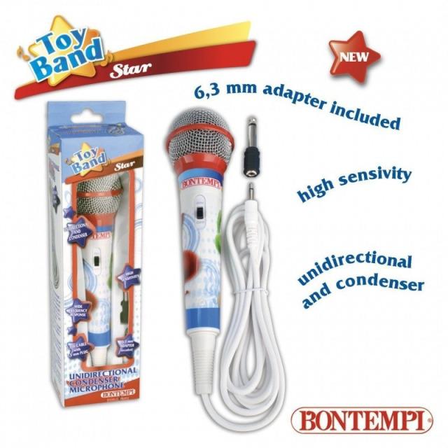 Obrázek produktu Bontempi Mikrofon Star s jackem