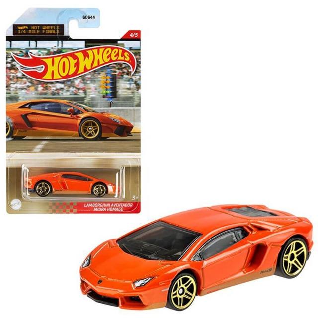 Obrázek produktu Hot Wheels Angličák 1/4 Mile Finals Lamborghini Aventador Miura Homage Mattel GRP31