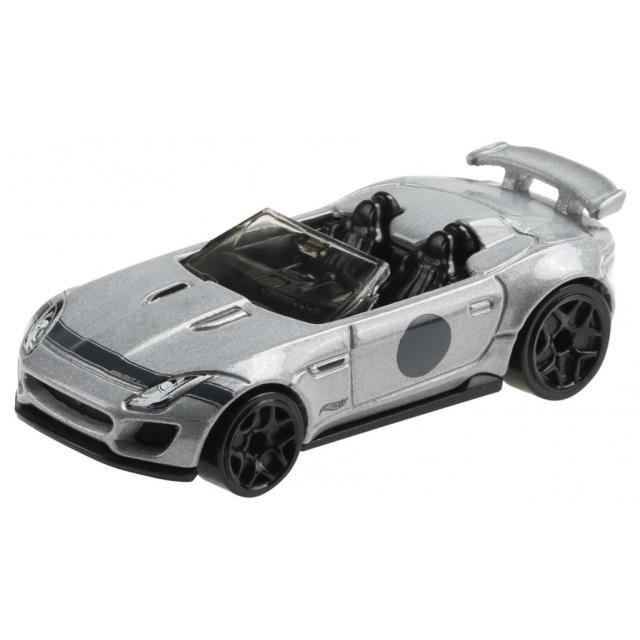 Obrázek produktu Hot Wheels Angličák Premium 15 Jaguar F-type Project 7 Mattel GRT14