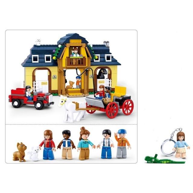 Obrázek produktu Sluban Town M38-B0560 Koňská farma