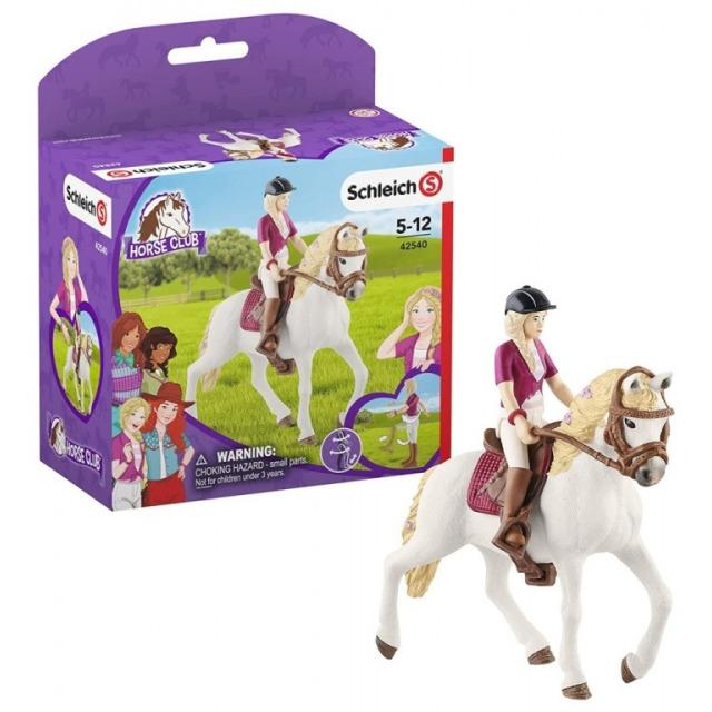 Obrázek produktu Schleich 42540 Blondýna Sofia s pohyblivými klouby na koni