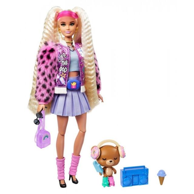 Obrázek produktu Barbie Extra Stylová dlouhovláska Donut, Mattel GYJ77