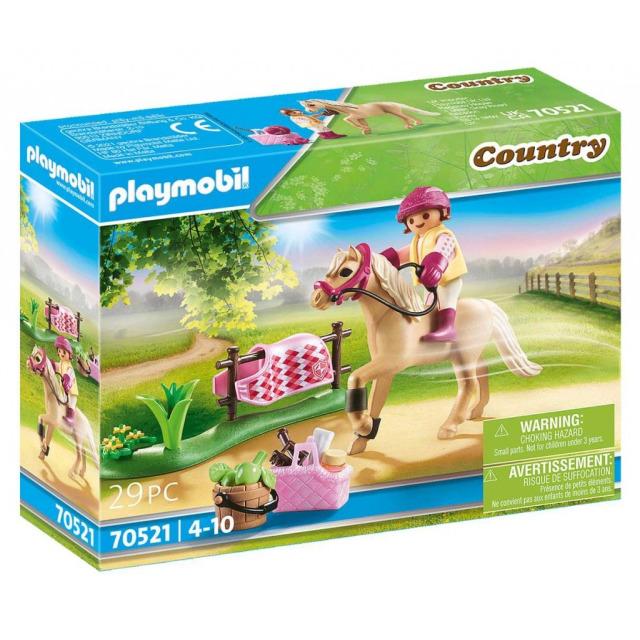 Obrázek produktu Playmobil 70521 Německý jezdecký poník