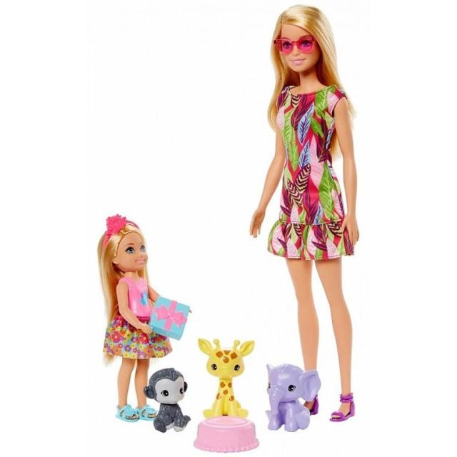 Obrázek produktu Mattel Barbie a Chelsea Ztracené narozeniny se zvířátky, Mattel GTM82