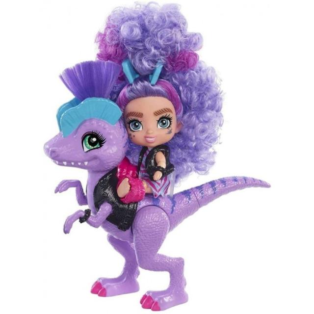 Obrázek produktu Mattel CAVE CLUB Panenka Rebel Tot s dino zvířátkem, GXP24