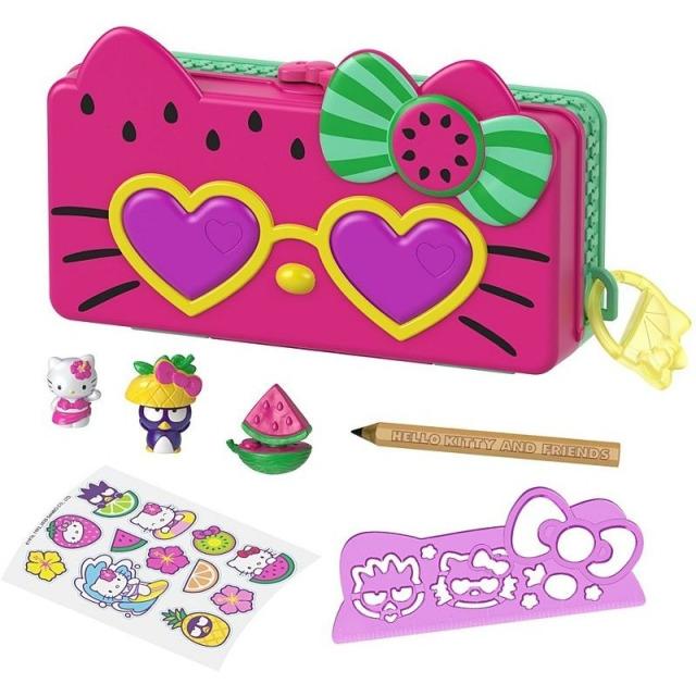 Obrázek produktu Mattel Hello Kitty Penál hrací set Pláž