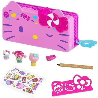 Obrázek 1 produktu Mattel Hello Kitty Penál hrací set Karneval